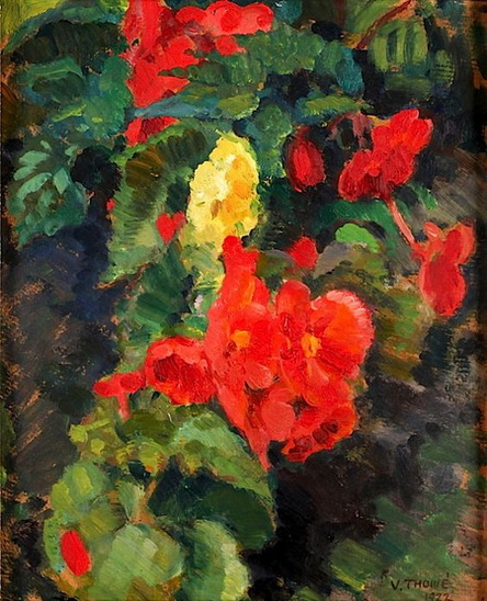 Verner Thome - Flowers and Foliage