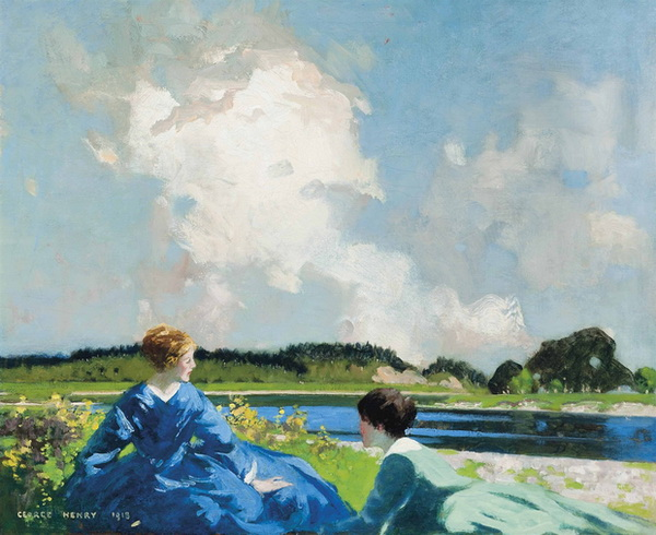 George Henry  -  Beside the lake