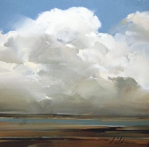 Joseph Alleman - Lake View cloud study