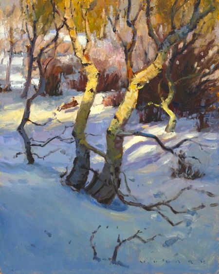 Jim Wodark - Winter Aspen