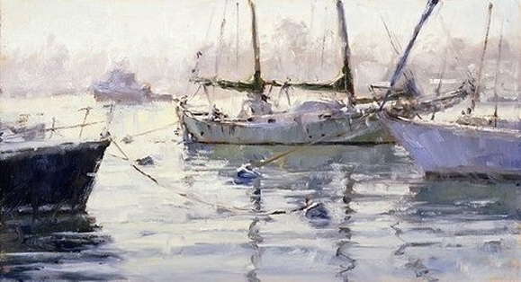 Jim Wodark - Misty Morning Tug