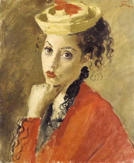 Augustus Edwin John - Portrait of Miss Dorothy Duveen