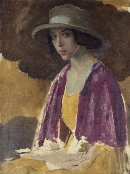 Augustus Edwin John -  Portrait of a Woman