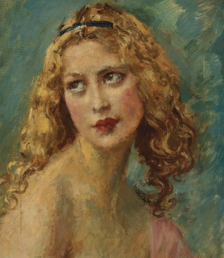 Augustus Edwin John -  Portrait of Ray