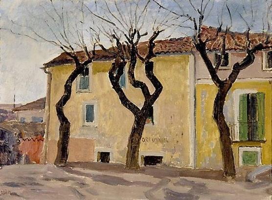 Augustus Edwin John - Corner, Vielle