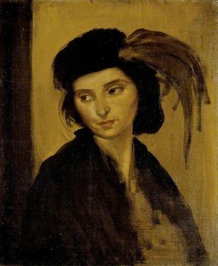 Augustus Edwin John - Head of Dorelia McNeill