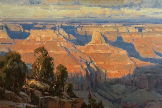 Scott Christensen - Canyon Light