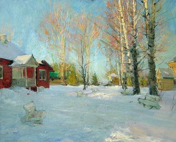 Косничев - Winter street