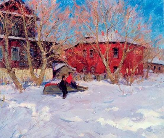 Косничев - Winter Day in Rostov