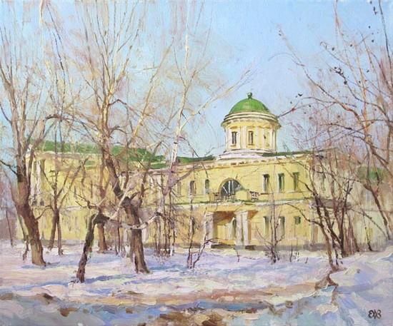 Ефремов Алексей  Под вешним солнцем