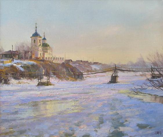 Ефремов Алексей  Серебристый свет весны