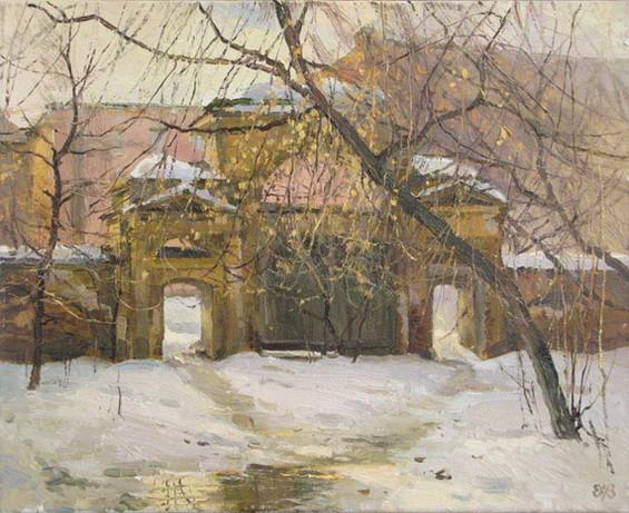 Ефремов Алексей  Старые дворы