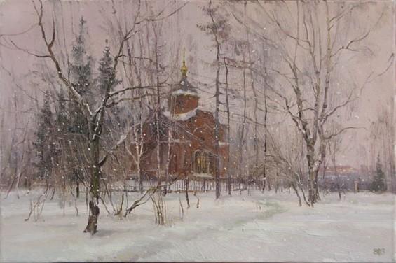 Ефремов Алексей  Зимние сумерки