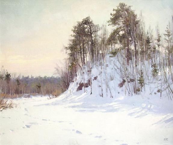 Ефремов Алексей Зима на Чусовой