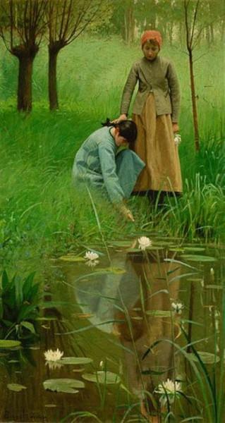 Lowell Birge Harrison - The Mirror