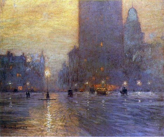 Lowell Birge Harrison - Madison Square