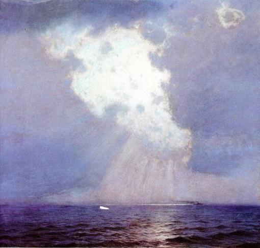 Lowell Birge Harrison - Sunburst at Sea