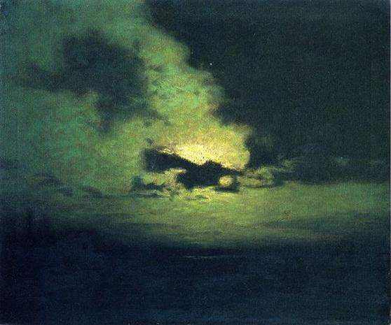 Lowell Birge Harrison - The Hidden Moon