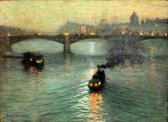 Lowell Birge Harrison - Evening On The Seine
