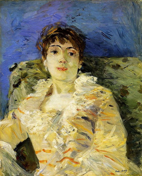 Mary Cassatt  Young Woman on a Couch