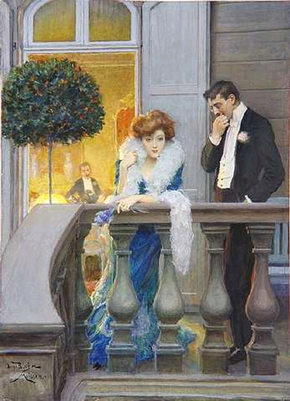Oscar Bluhm - On the Balcony