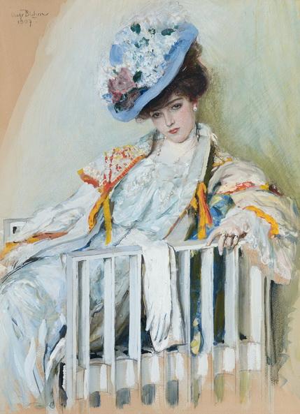 Oscar Bluhm - Elegant Lady