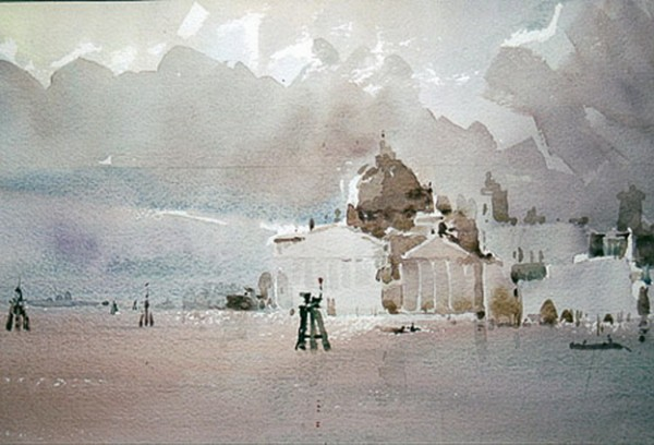 Mike Chaplin - Venice Threatening Clouds - Venice