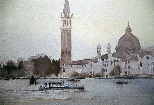 Mike Chaplin - Venice Water Bus on the Lagoon