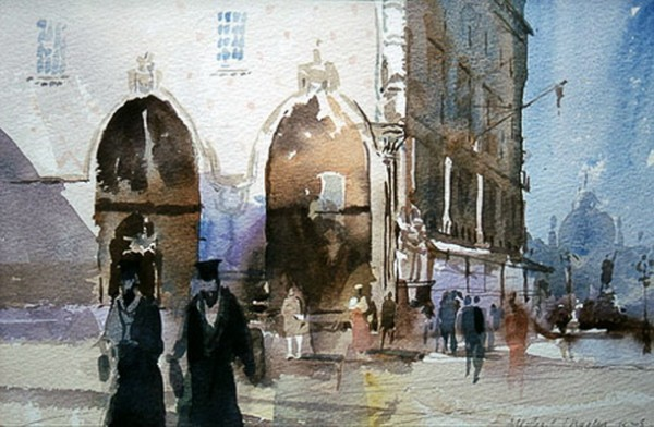 Mike Chaplin - Venice Two Priests