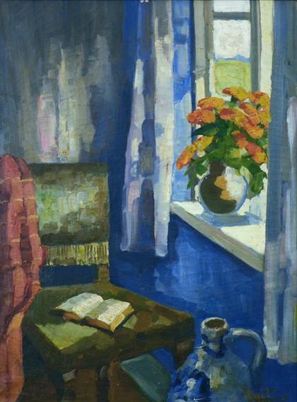 Mogens Christian Vantore - Interior with Sunlight