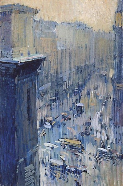 Nicolas Tarkhoff - Street. The Parisian suburb of Saint-Martin