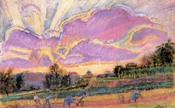 Nicolas Tarkhoff -  The Fields of Orsay 1907