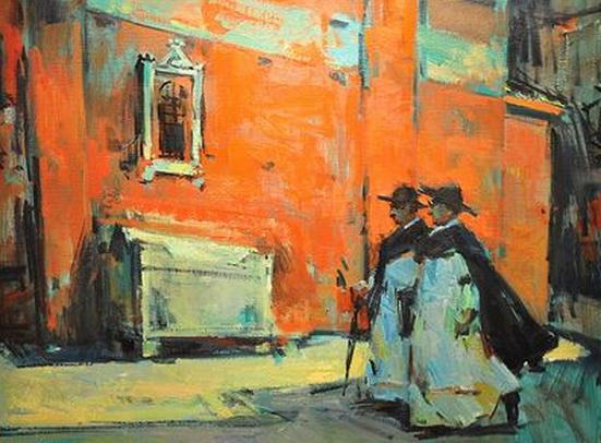 Sergei Bongart - Two Monks