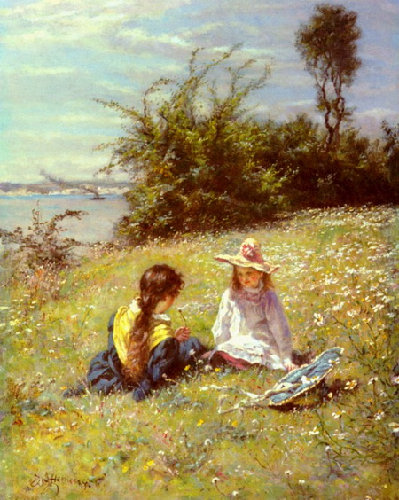 William John  Hennessy - The Dandelion Clock
