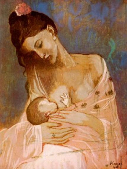 Pablo Picasso - Maternity