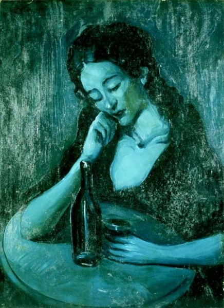 Pablo Picasso - his blue period