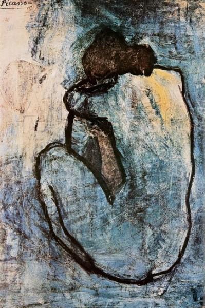 Pablo Picasso - Blue Nude