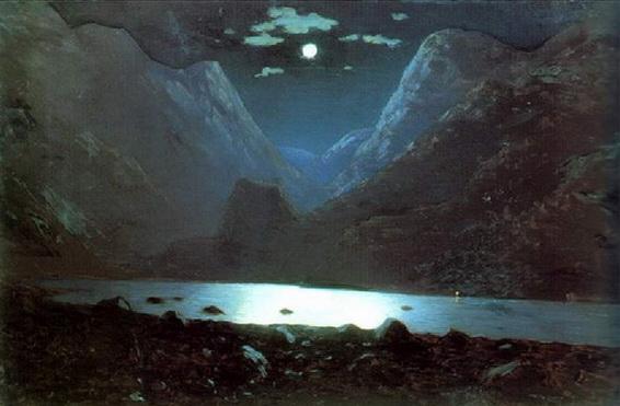 Kuinji - Дарьяльское ущелье. Лунная ночь