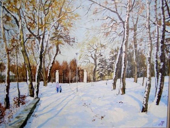 Ралиф Ахметшин - Зимой в парке