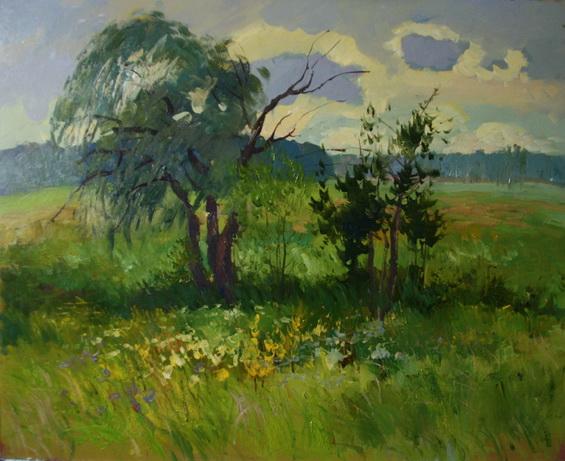 Ралиф Ахметшин - Одинокие деревья