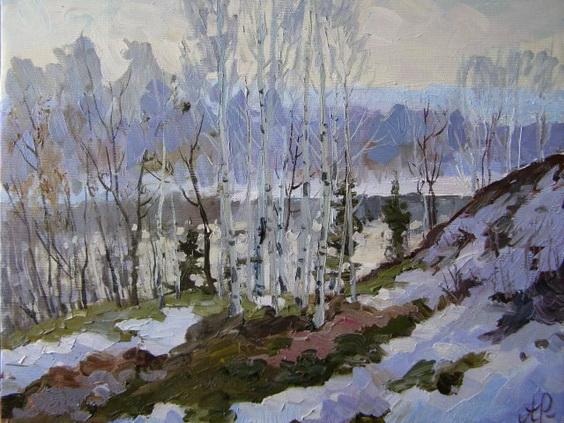Ралиф Ахметшин - Зимний пейзаж