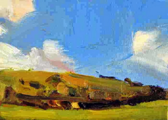 HR Bell - English landscape on a small scale