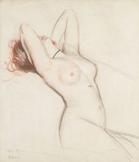 Paul Cesar Helleu -  nude