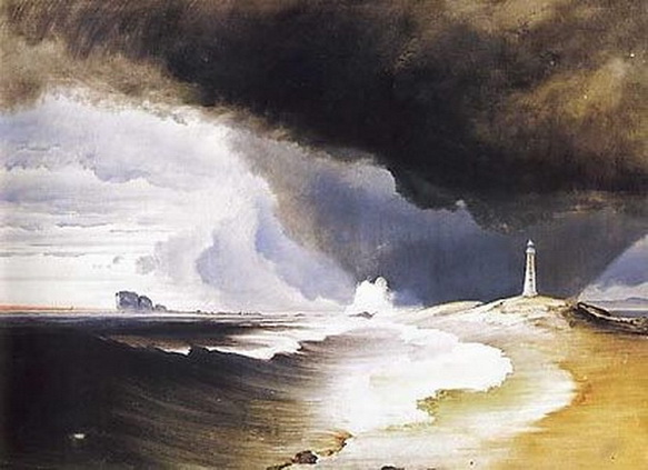 Peder Balke -Varda Lighthouse