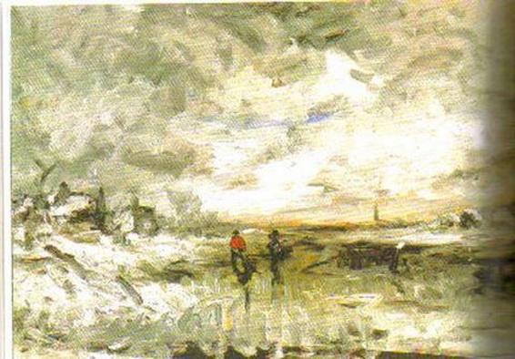 Fanny Churberg - Winter Landscape