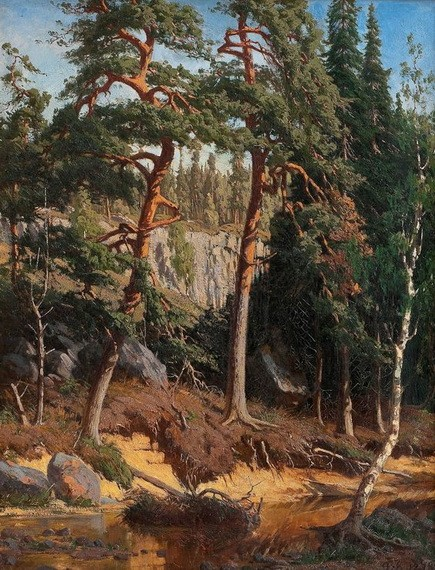 Fanny Churberg - In the Forest