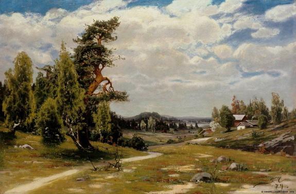 Fanny Churberg - landscape in summer