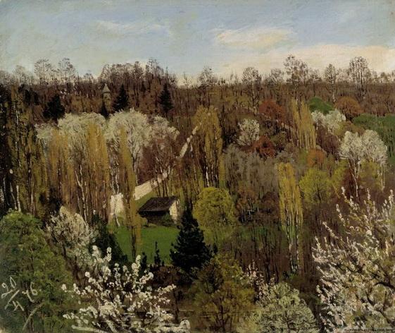 Fanny Churberg - Spring Landscape