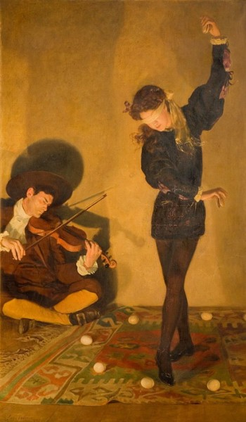 John Maler Collier - Egg Dance