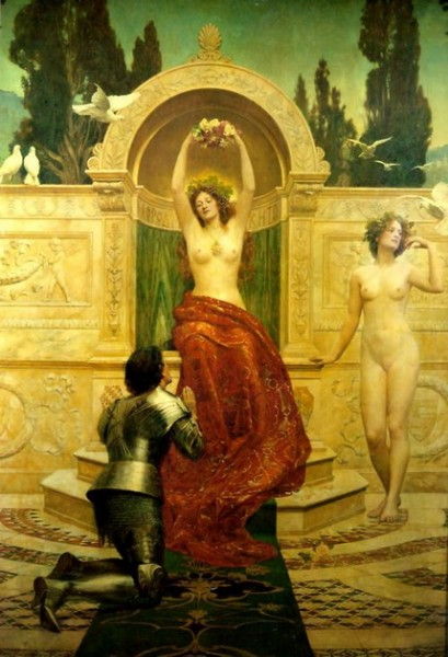 John Maler Collier - In the Venusberg Tannhauser
